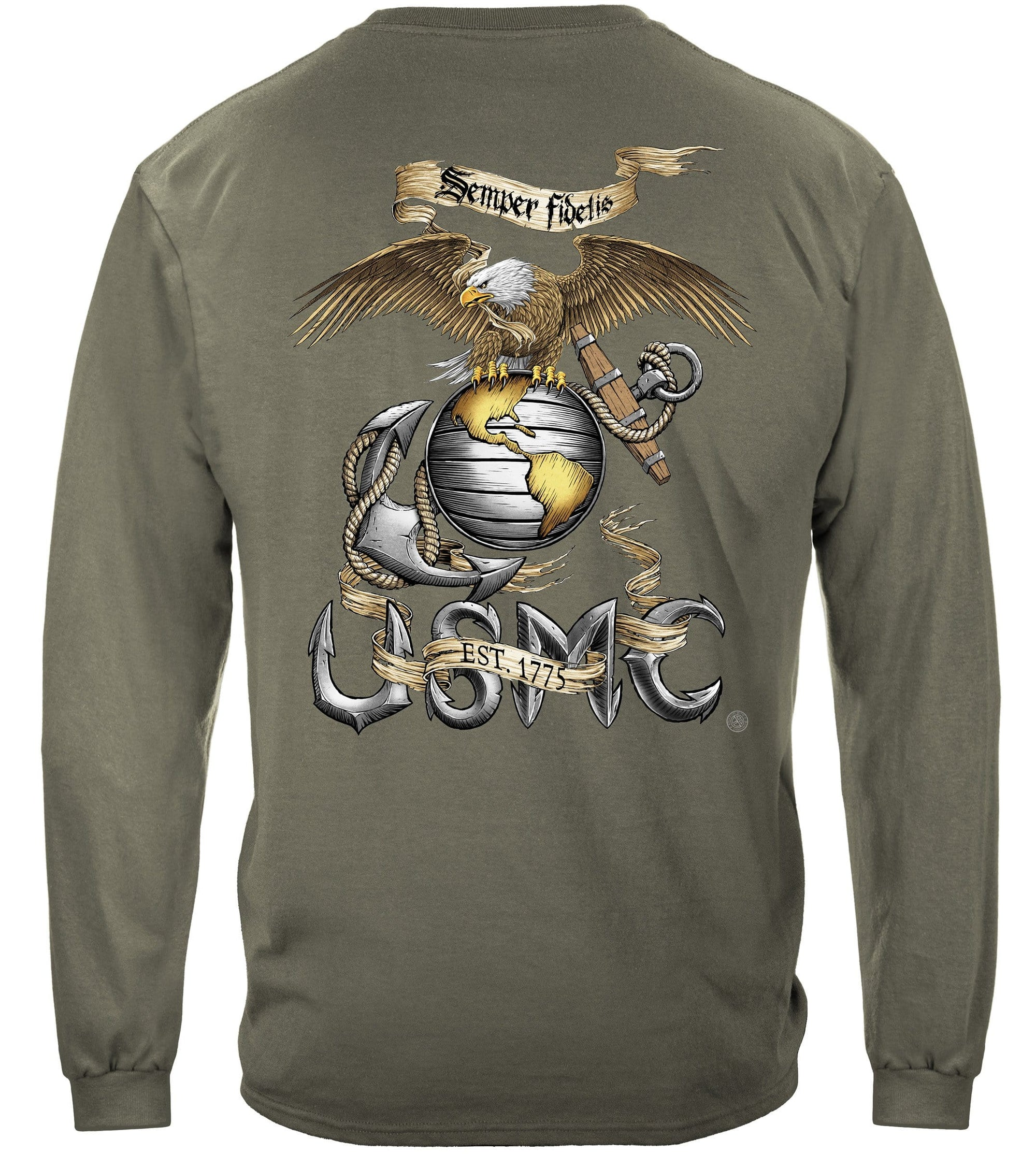 Eagle USMC Premium Men's Long Sleeve