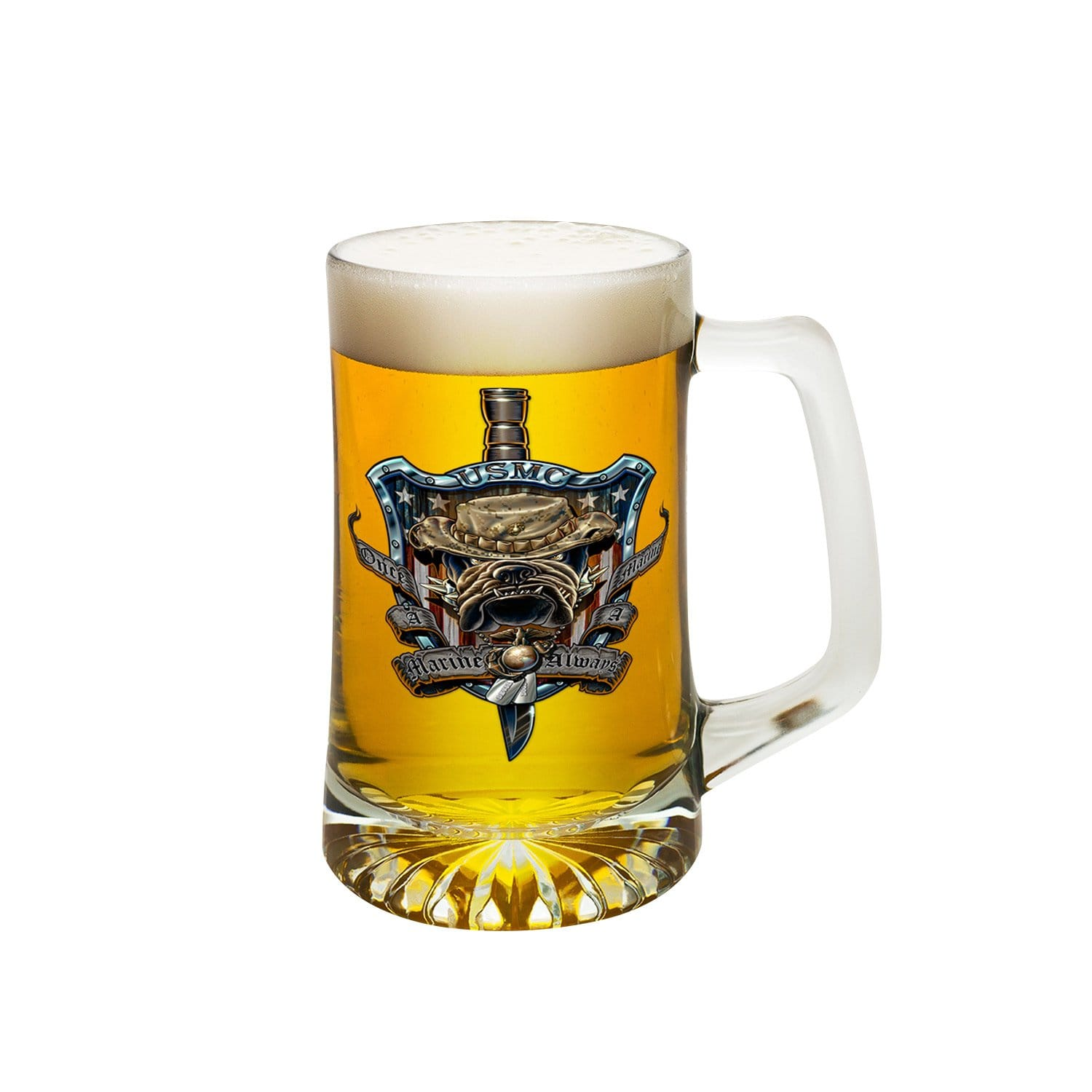 Once And Always A Marine Tankard