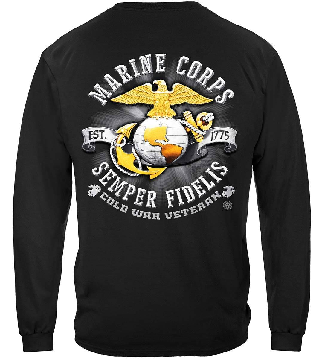 USMC Cold War Vet Premium Long Sleeves