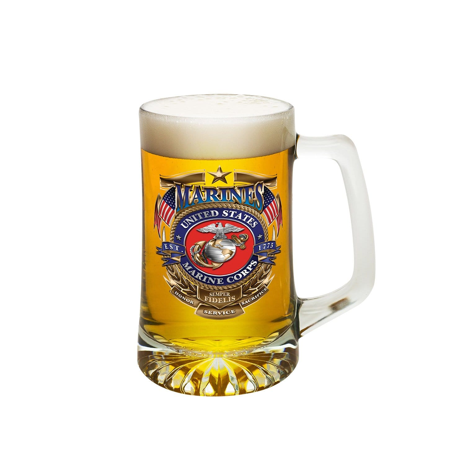 USMC Badge Of Honor Tankard