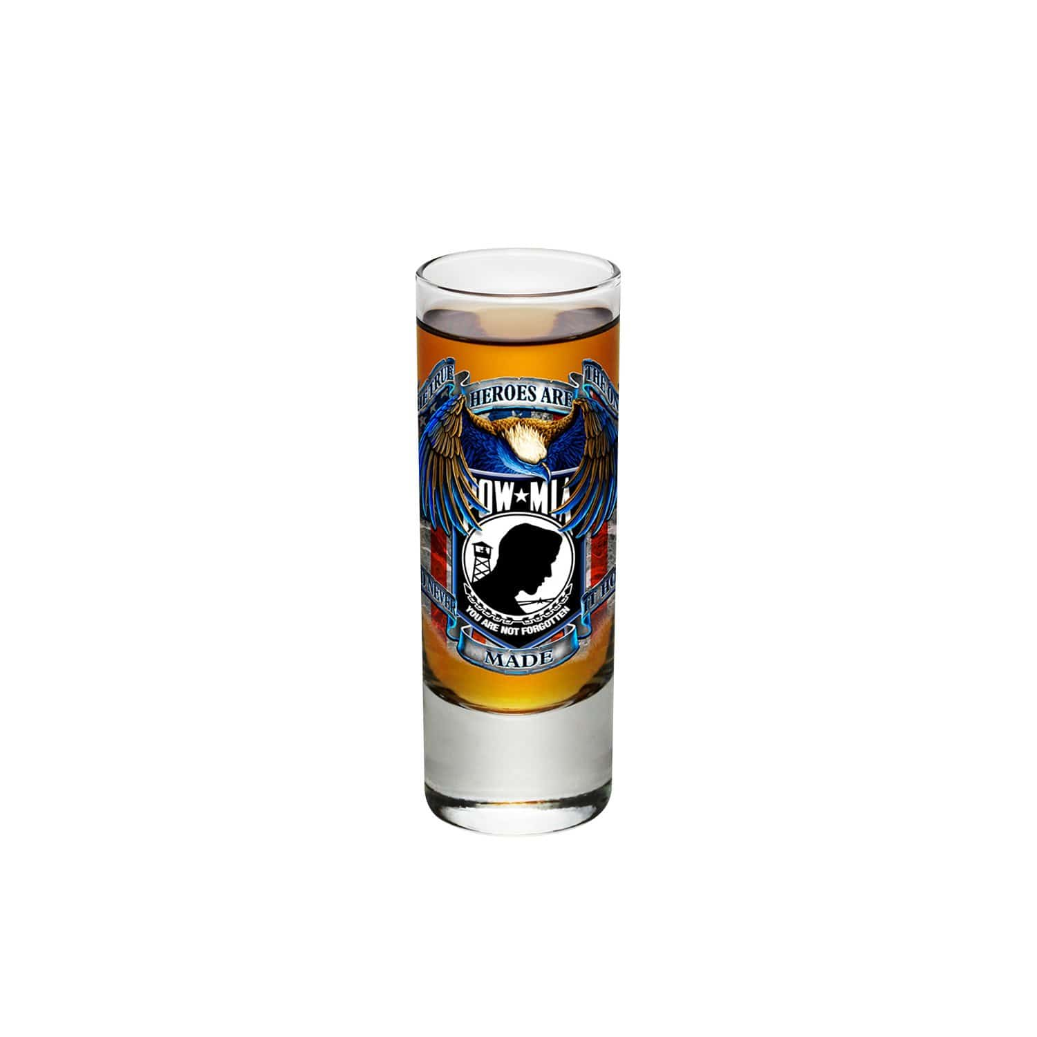 POW True Heroes Shooter Shot Glass