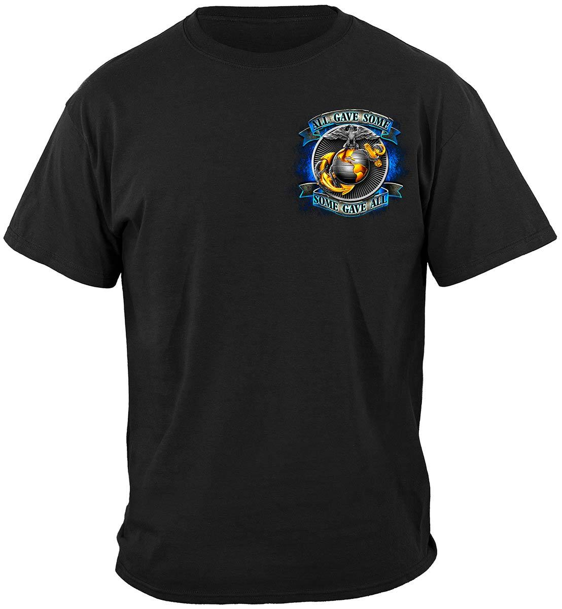 True Hero Marines Premium Hooded Sweat Shirt