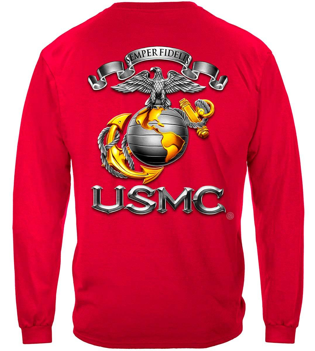 USMC-Semper Fidelis Premium Long Sleeves