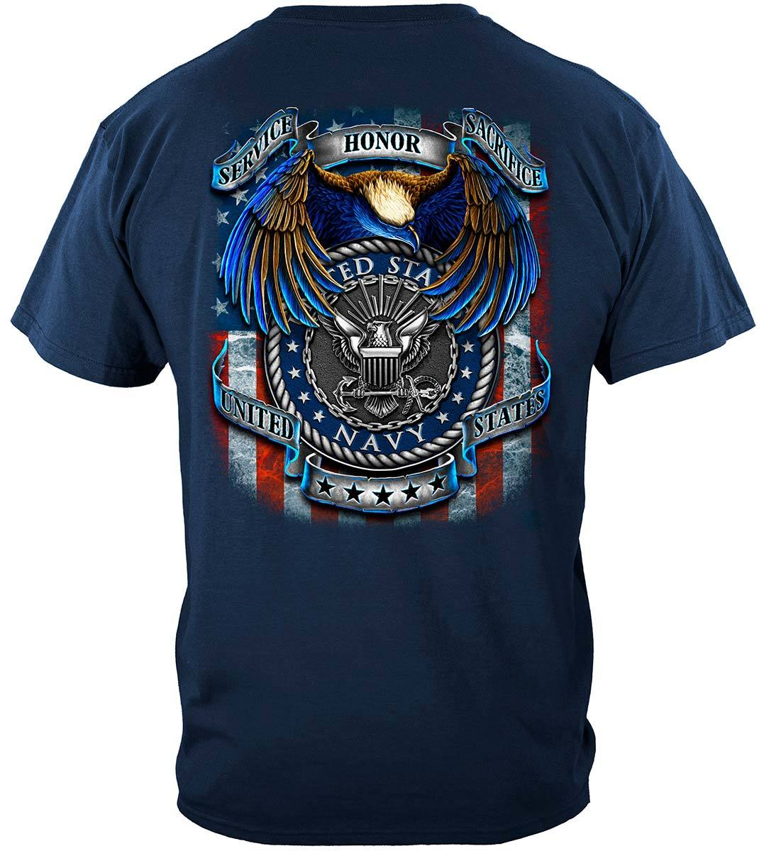 True Heroes Navy Premium T-Shirt