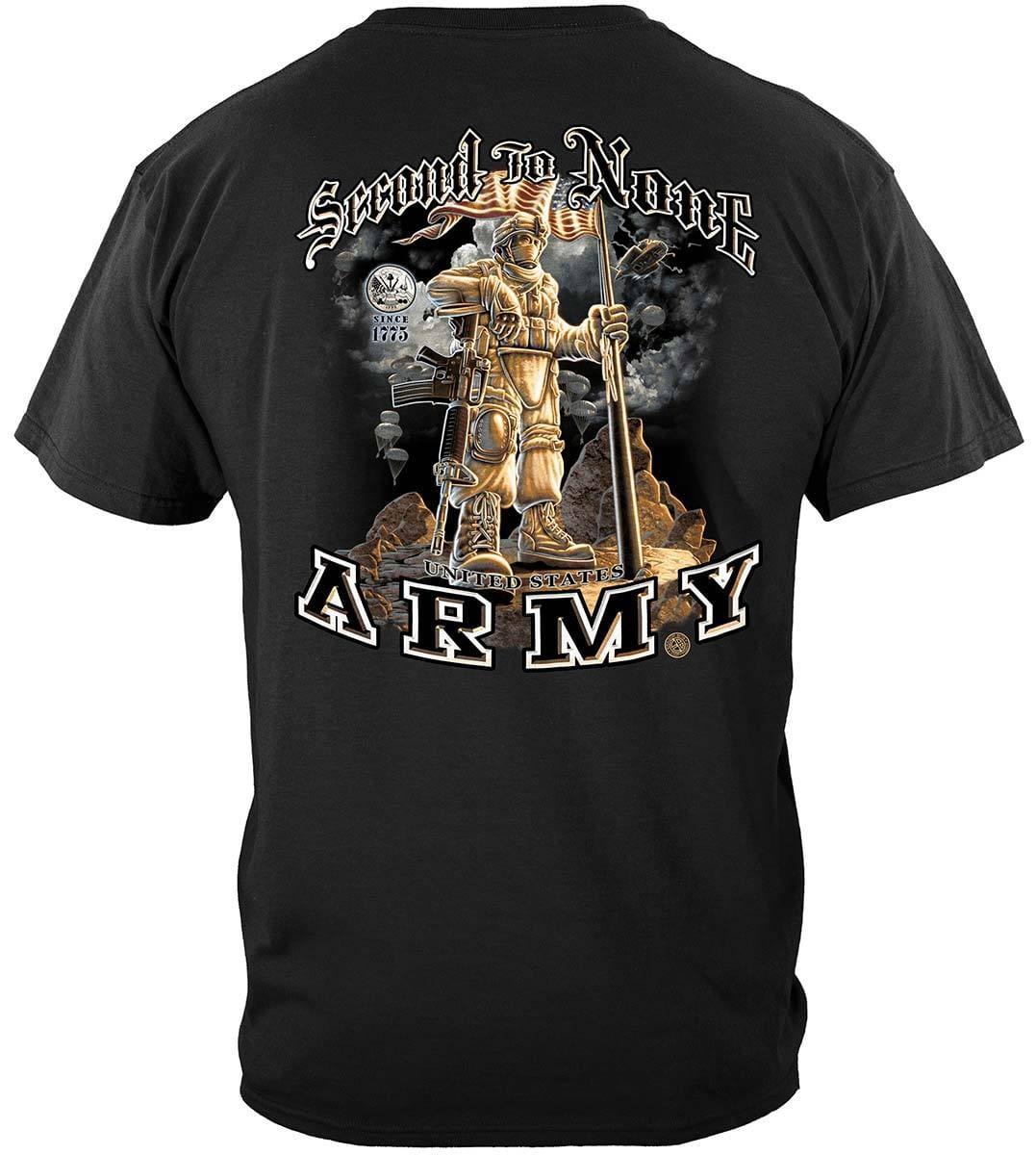 Army Second To None Premium T-Shirt
