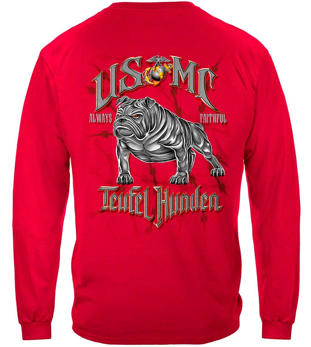 USMC Teufel Hunden Premium Long Sleeves