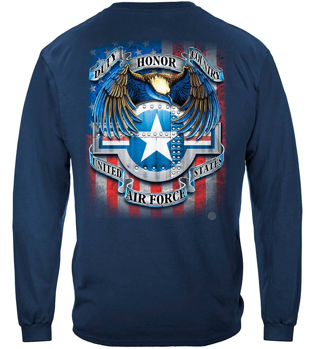 Air Force Star Shield Premium Long Sleeves