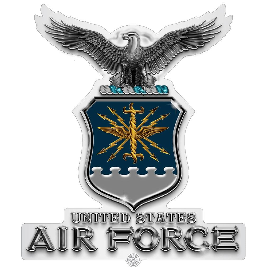 Air Force USAF Missile Premium Reflective Decal