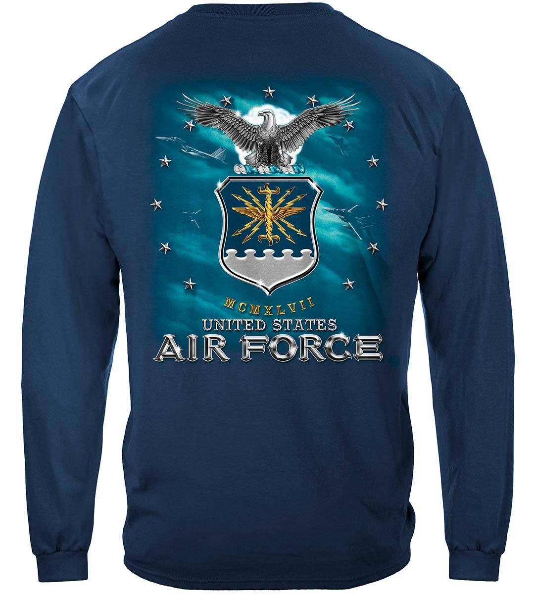 Air Force USAF Missile Premium Long Sleeves