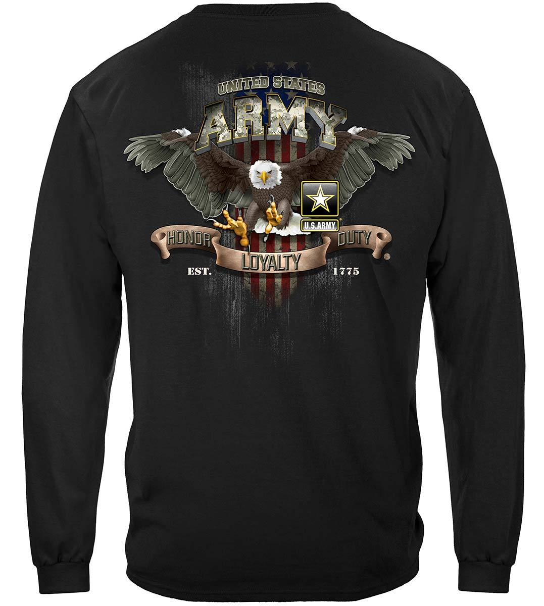 Army Loyalty Eagle Premium Long Sleeves