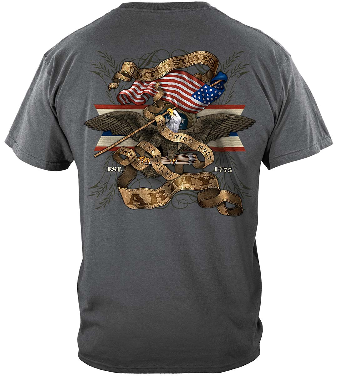Army Eagle Antique This We'll Defend Premium T-Shirt