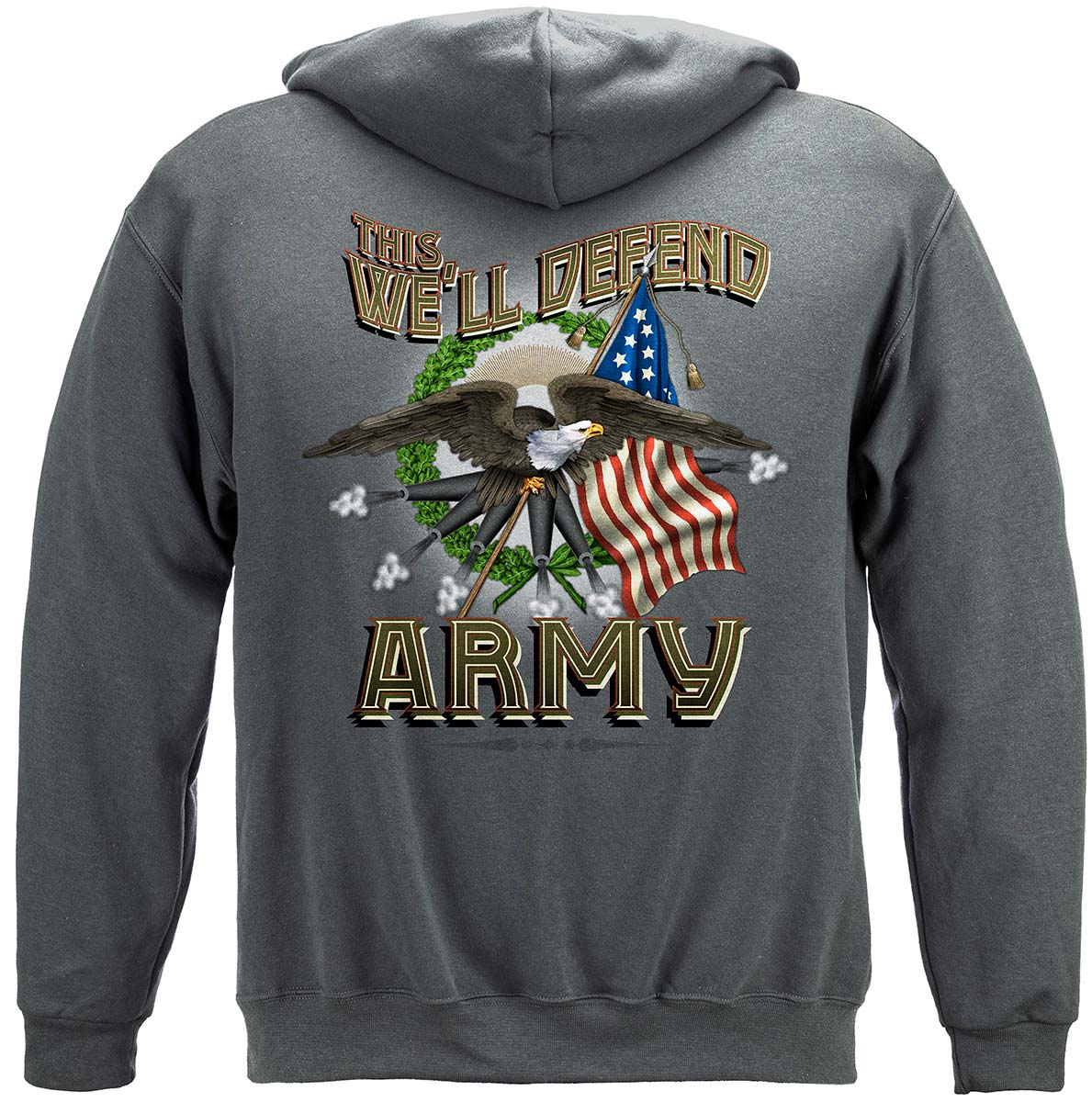 Army Cannons Premium Hooded Sweat Shirt