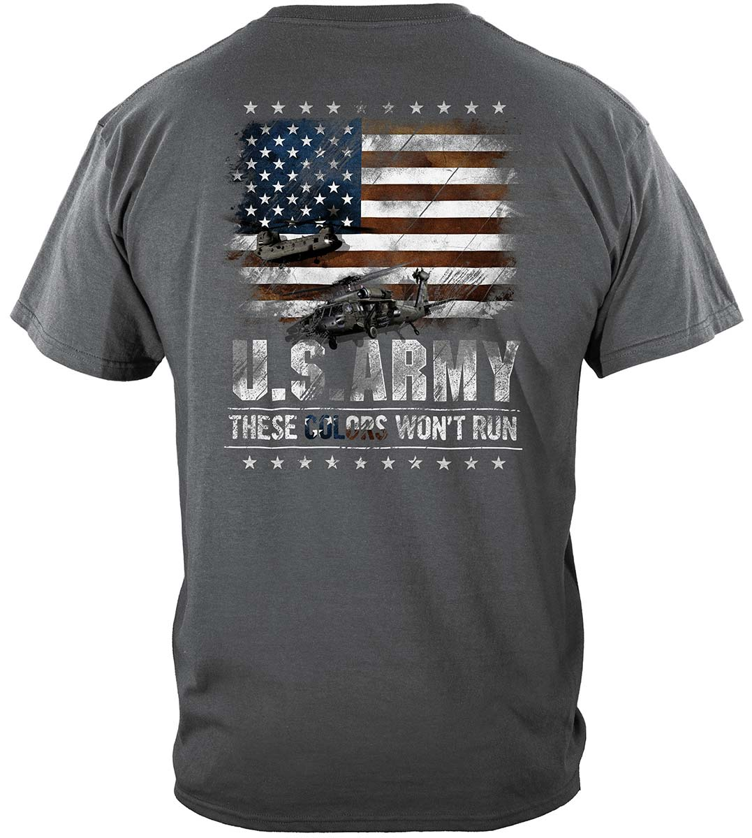 Army These Color Don't Run Premium T-Shirt