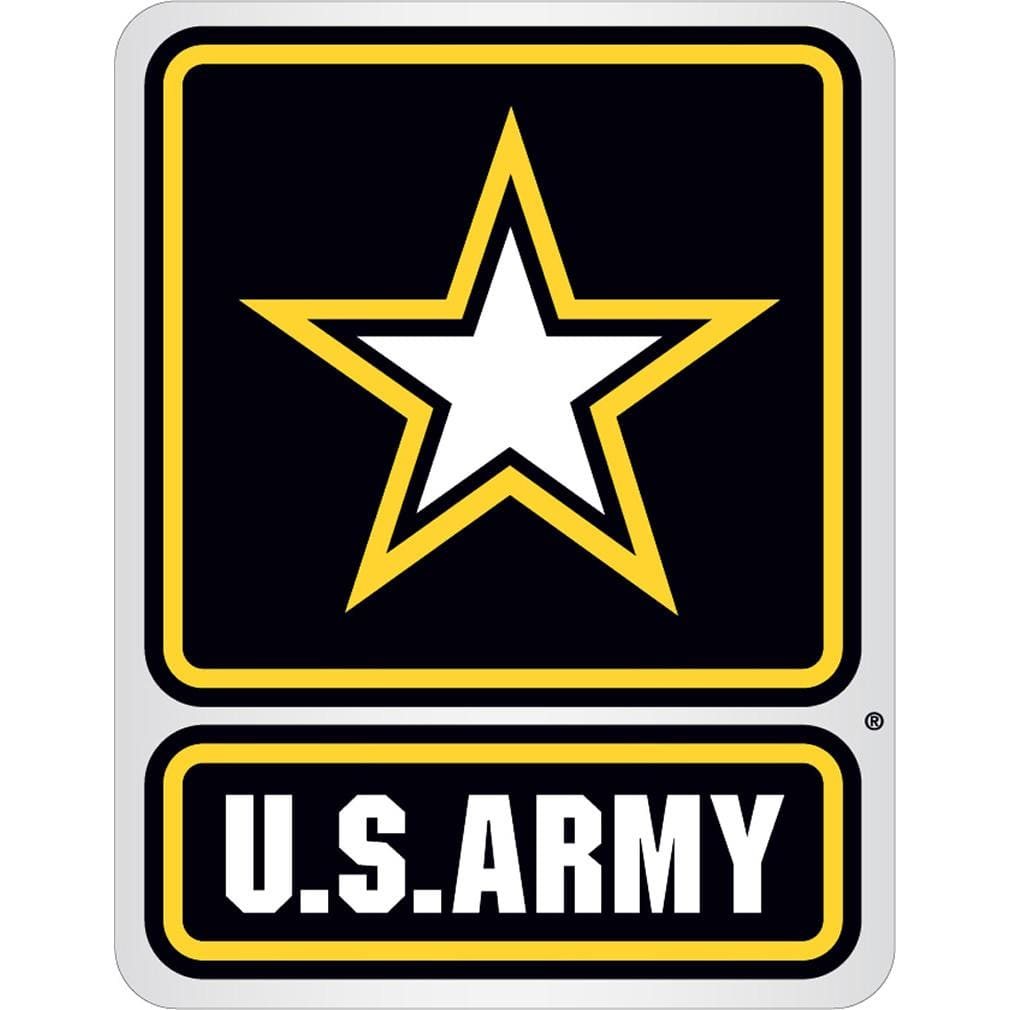 ARMY STAR LOGO Premium Reflective Decal