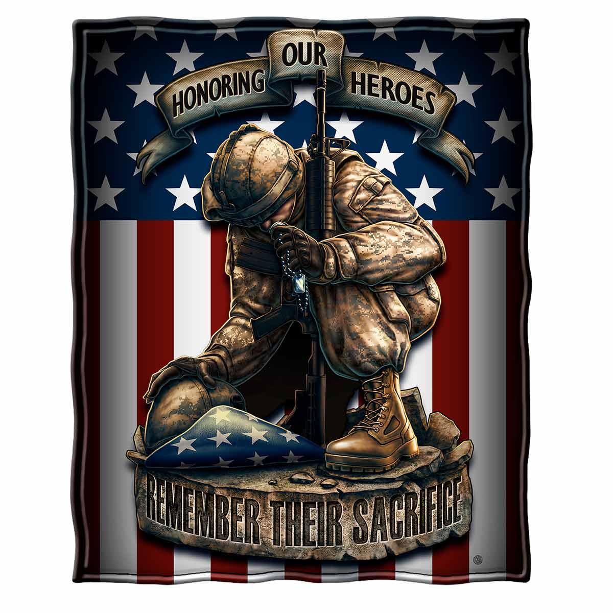 Honor Our Heroes Premium Blanket