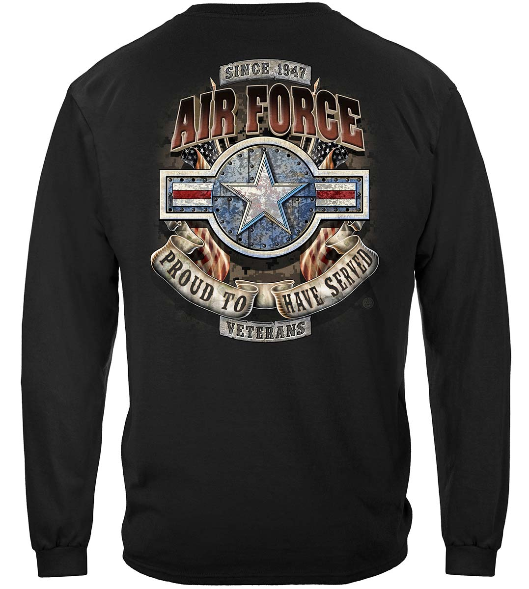 Air Force Proud To Have Served Premium Long Sleeves