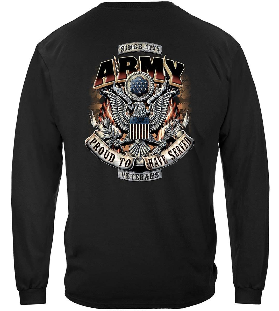 Army Proud To Have Served Premium Long Sleeves