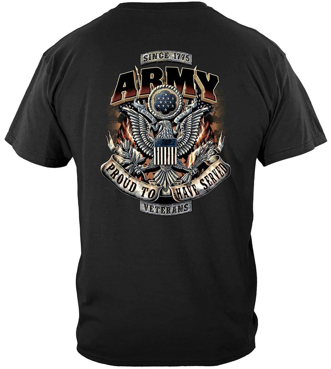 Army Proud To Have Served Premium T-Shirt