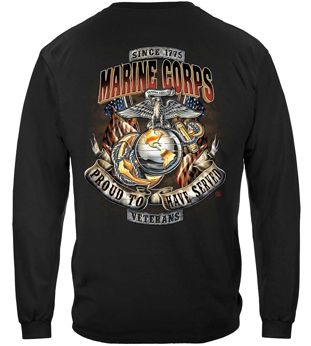 Marines Proud To Have Served Premium T-Shirt
