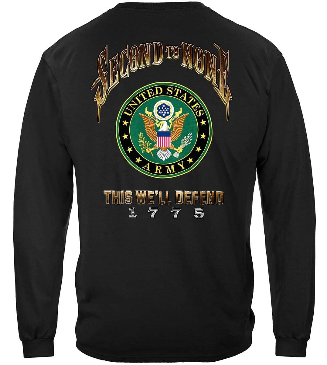 US Army Second To None Premium Long Sleeves