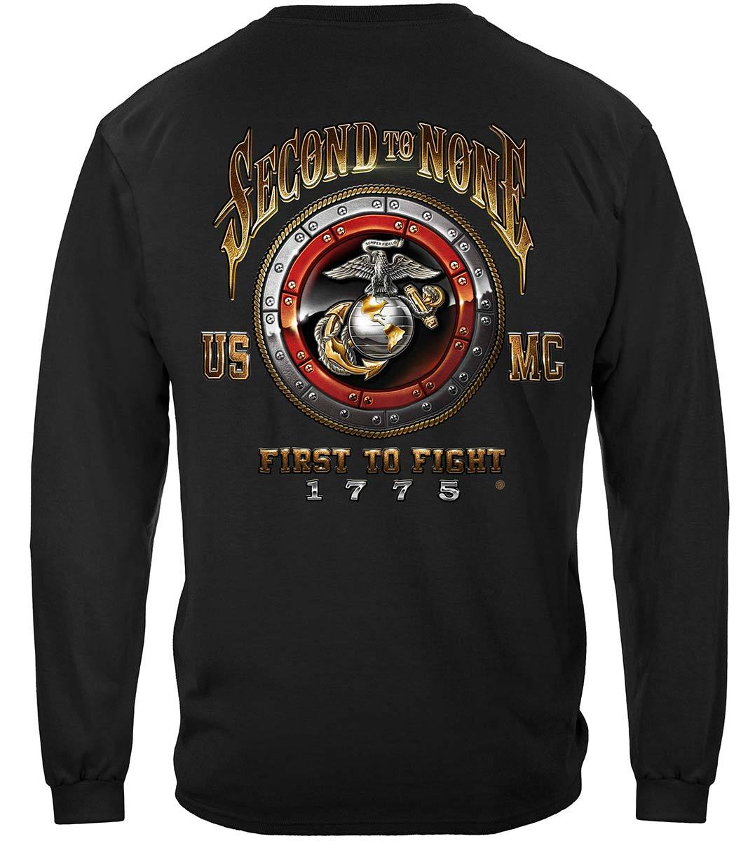 USMC Second To None Premium Long Sleeves