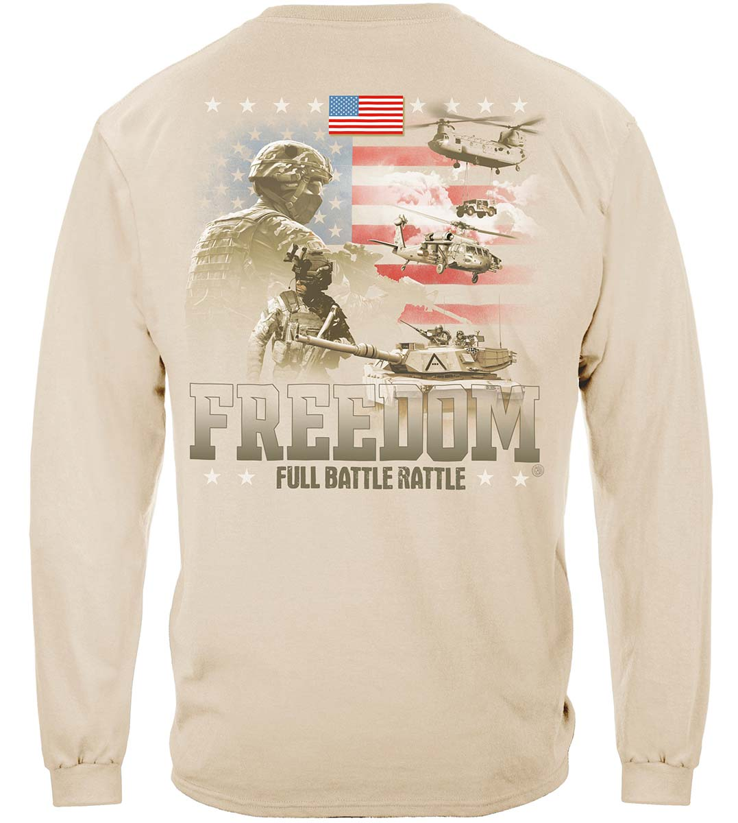 Freedom Full Battle Rattle Premium Long Sleeves