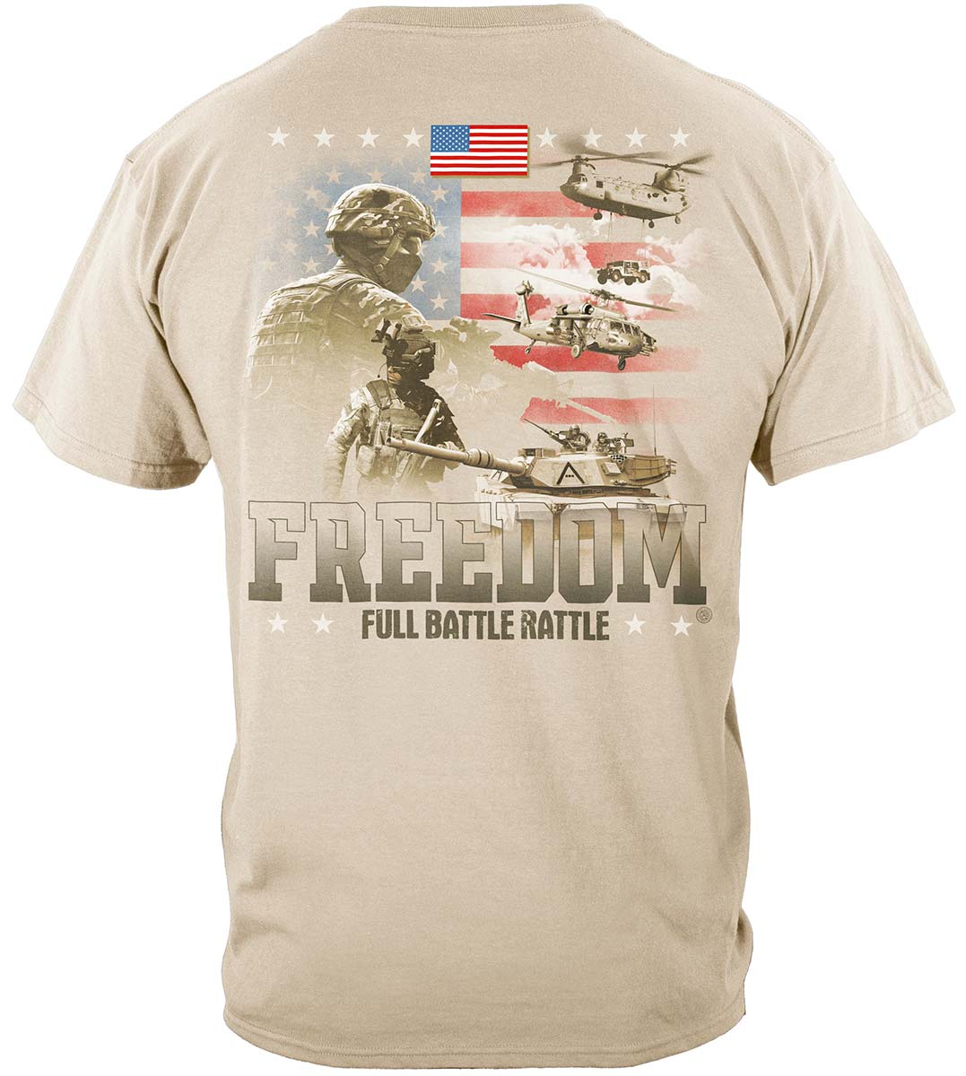 Freedom Full Battle Rattle Premium T-Shirt