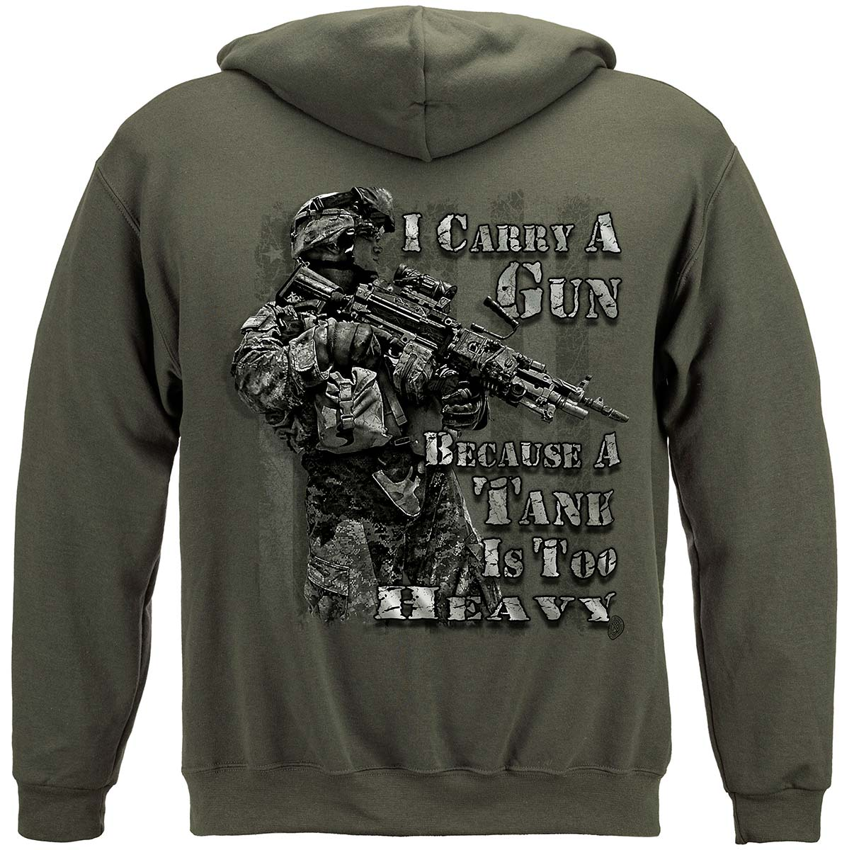 I Carry A Gun Tank Is Too Heavy Premium Long Sleeves