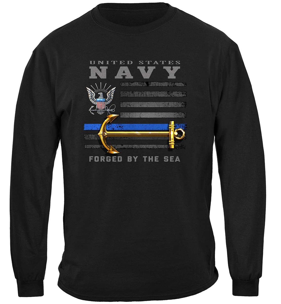 US NAVY Patriotic Flag Premium Hooded Sweat Shirt