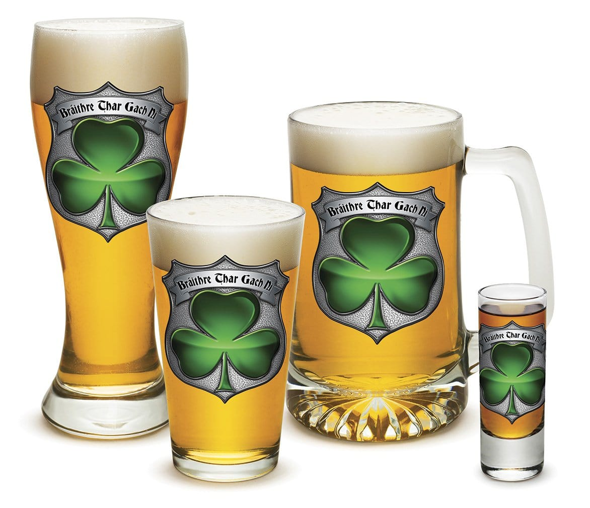 Irish Brotherhood Police 4 Piece Glass Gift Set