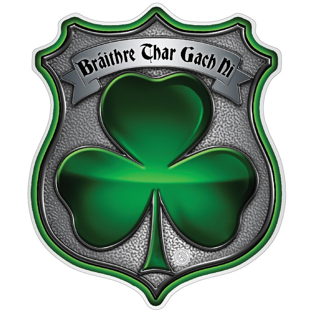 Policeman's Brotherhood Irish Premium Reflective Decal