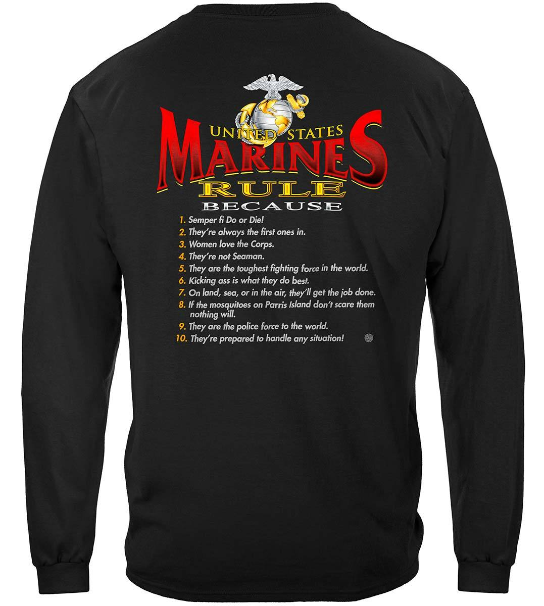 Rules Marines Premium Long Sleeves