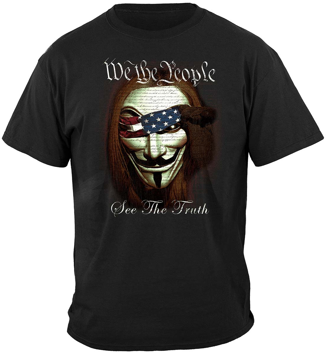 We The People See The Truth Premium T-Shirt