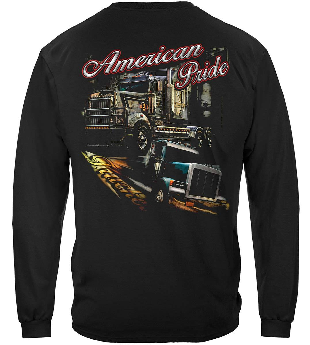 Trucker American Pride Premium Long Sleeves