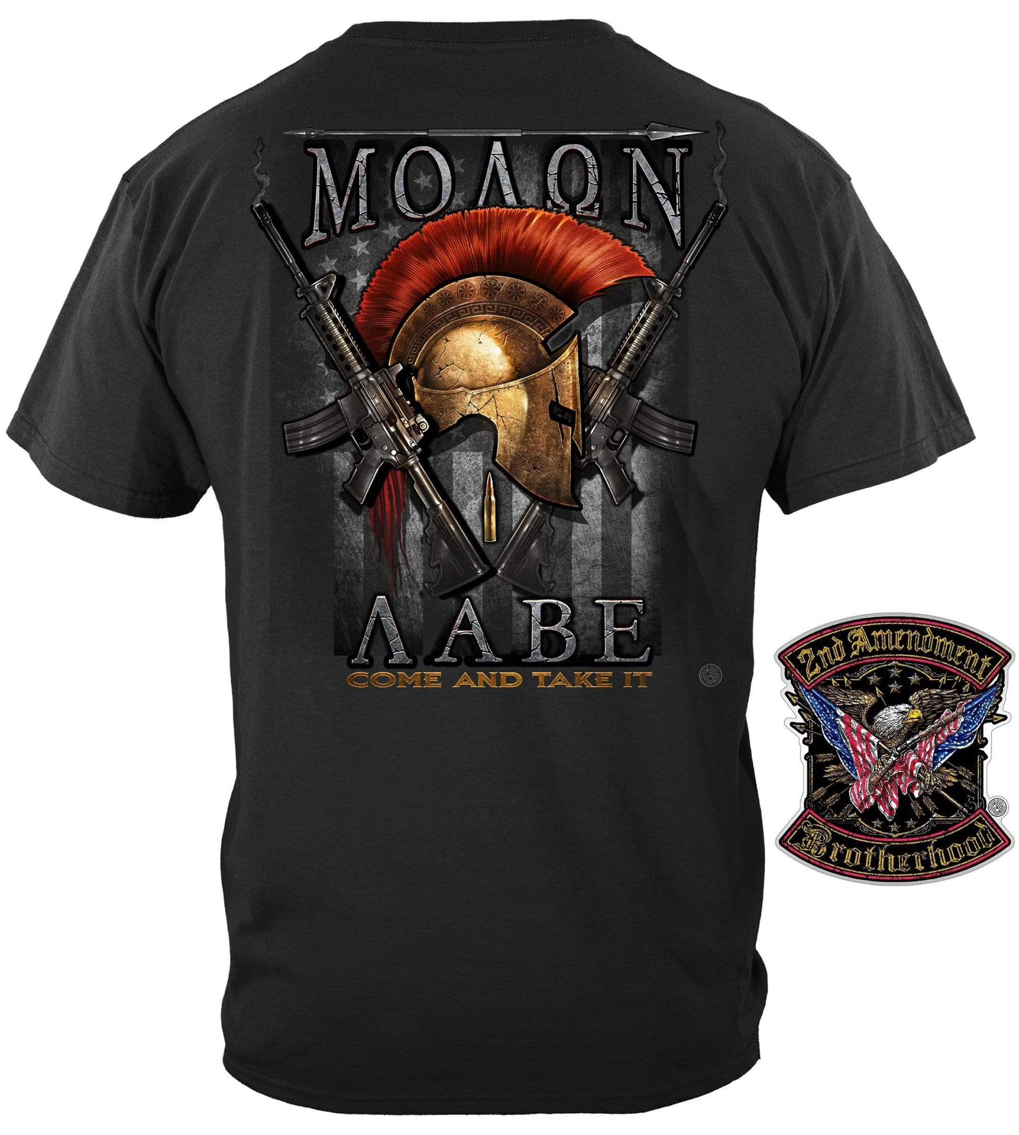 Molon Labe T-Shirt with *FREE DECAL worth $5.95*