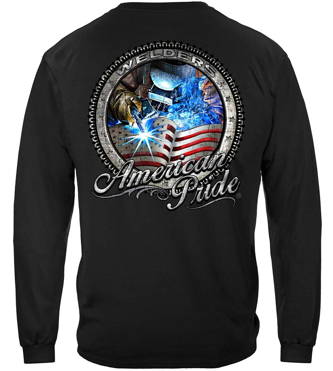 American Pride Welder Premium Hooded Sweat Shirt