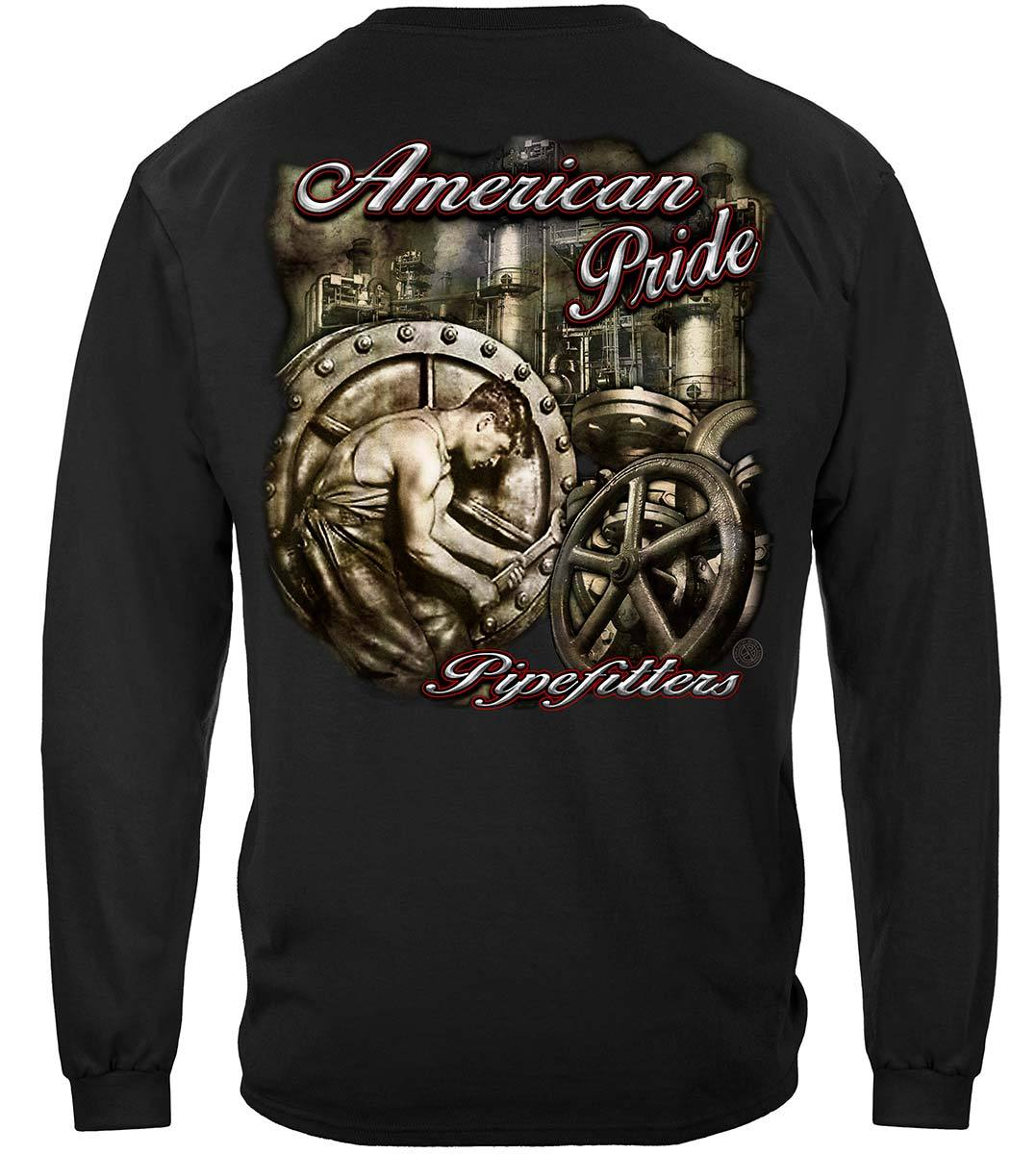 American Pride Pipefitters Premium Long Sleeves