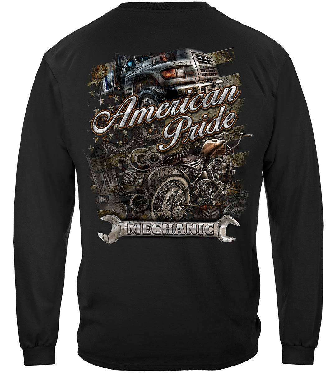 American Pride Mechanic Premium Long Sleeves