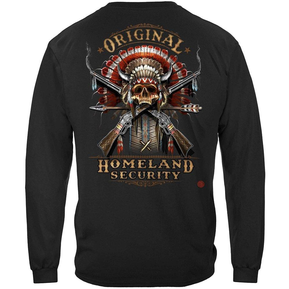2nd Amendment Original Homeland Security Premium Men's Long Sleeve