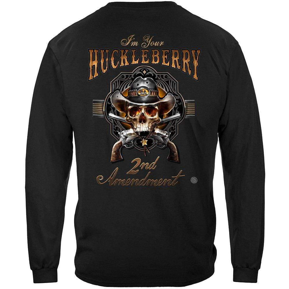2nd Amendment I Am Your HuckleBerry Premium Long Sleeves