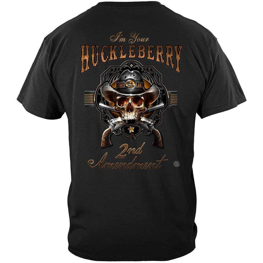 2nd Amendment I Am Your HuckleBerry Premium T-Shirt