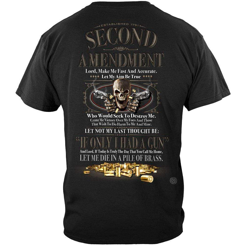 2nd Amendment If Only I Had a Gun Premium T-Shirt