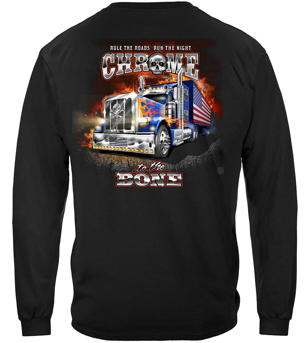 Trucker CTTB American Night Train Premium Long Sleeves