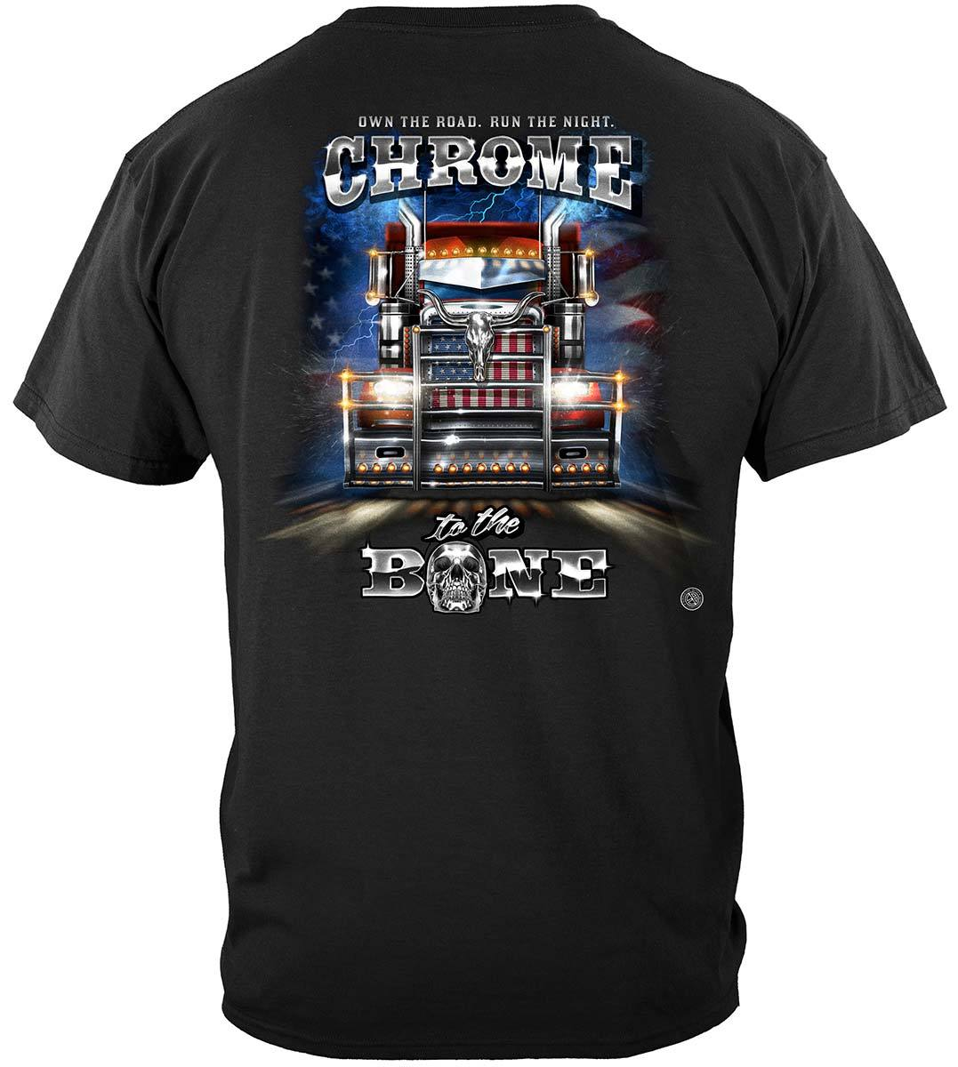 Trucker CTTB Big Rig Brush Guard Premium T-Shirt