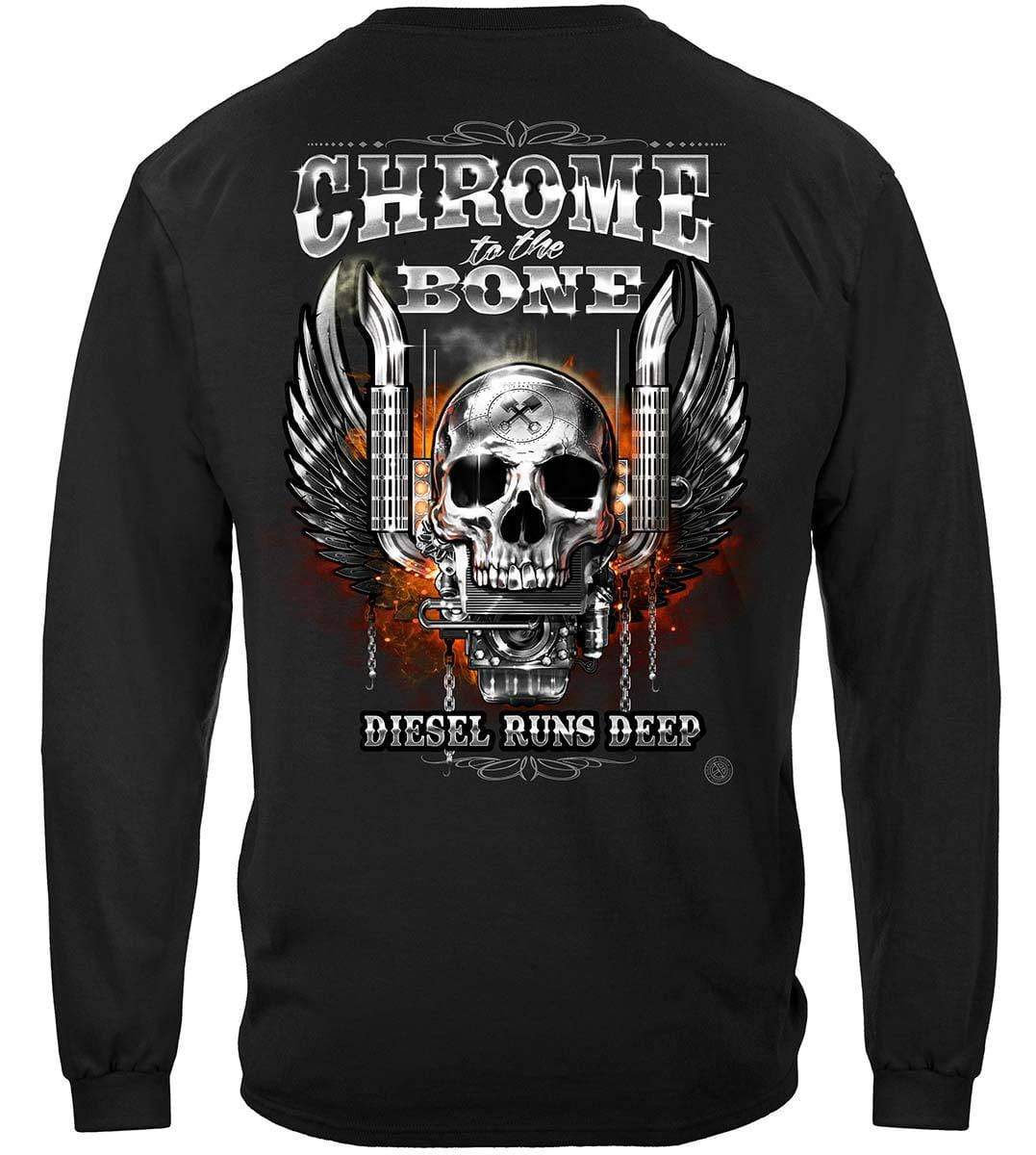 Trucker CTTB Diesel Runs Deep Premium Long Sleeves
