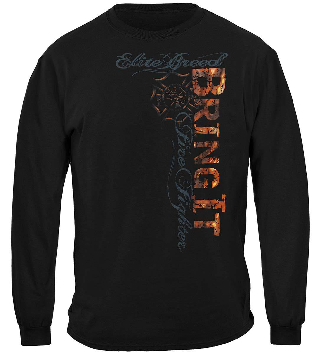 Elite Breed Firefighter Bring It Premium Hooded Sweat Shirt