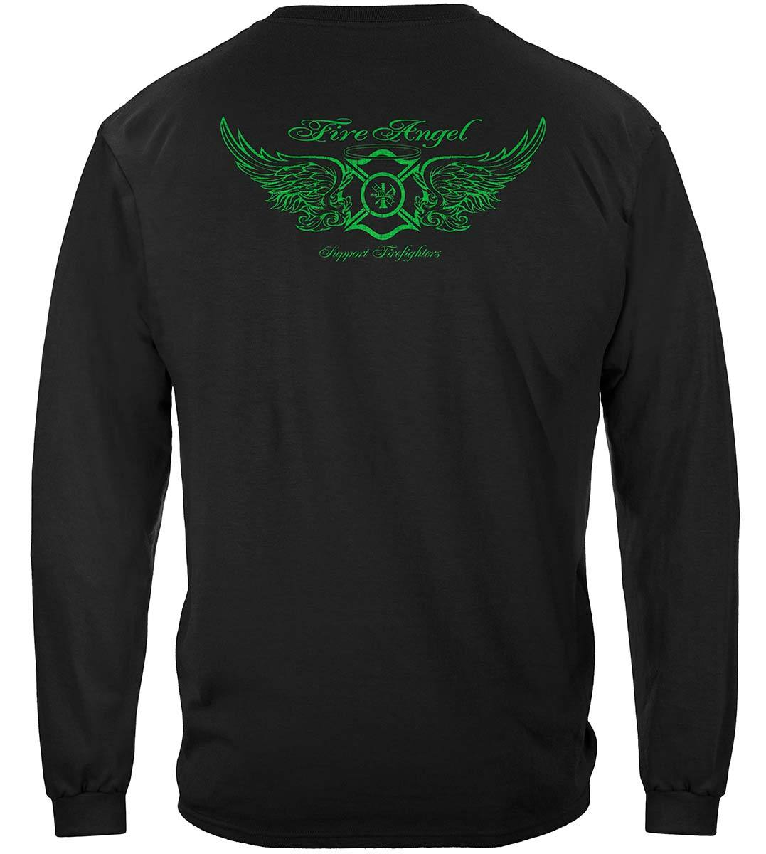 Firefighter Fire Angel Premium Long Sleeves