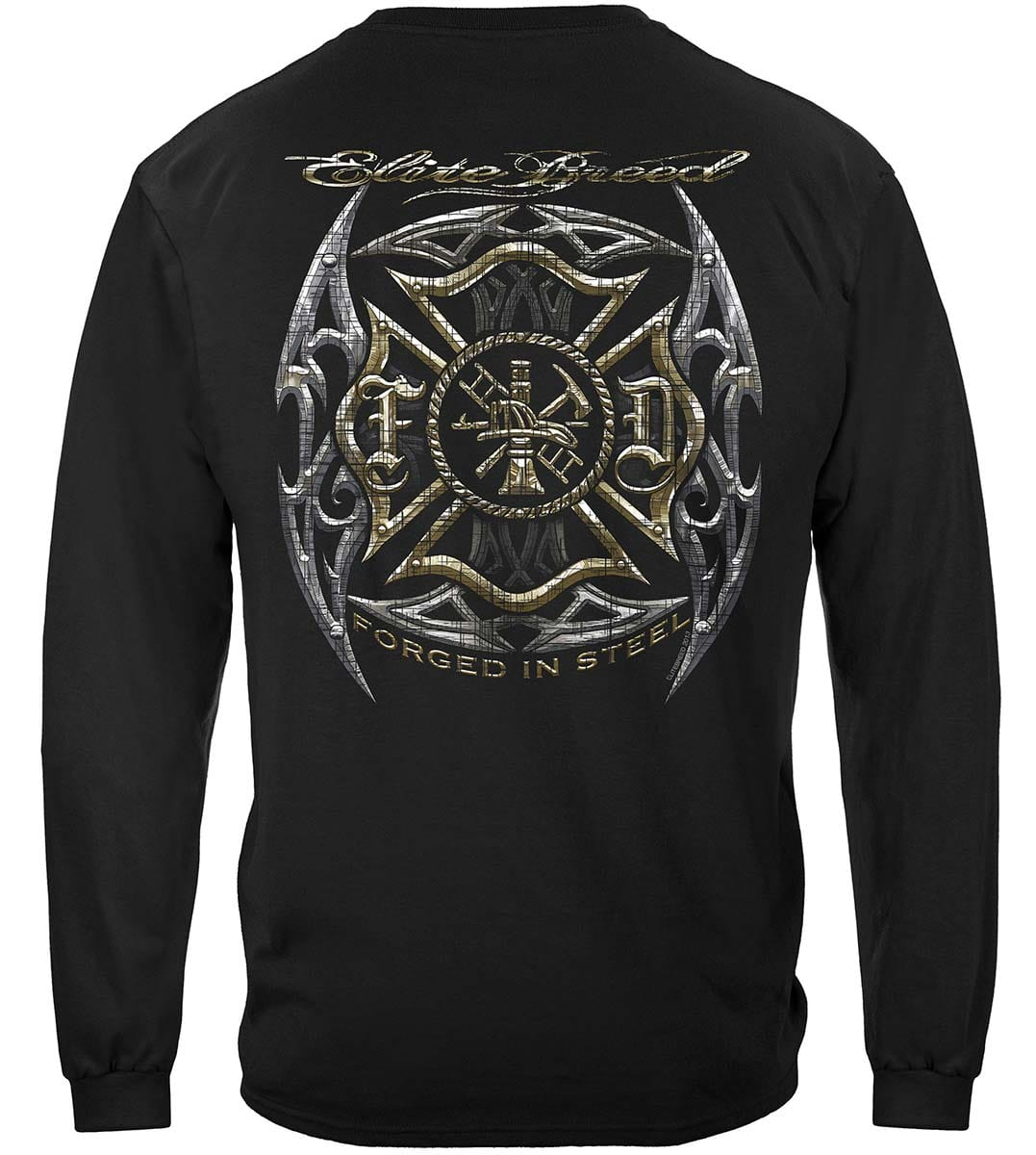 Elite Breed Firefighter Blades Silver Foil Premium Long Sleeves