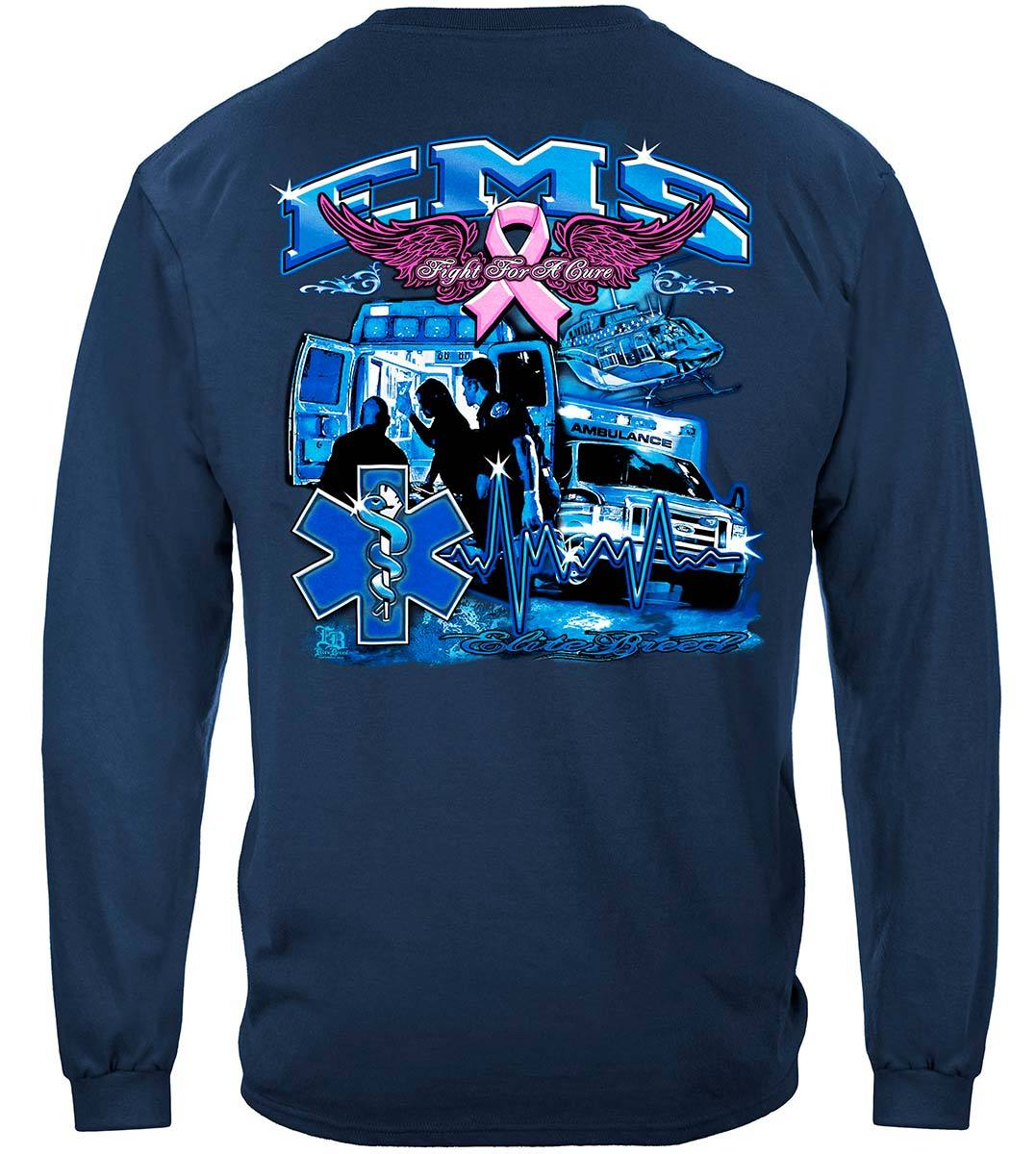 Elite Breed EMS Fight Cancer Premium Long Sleeves