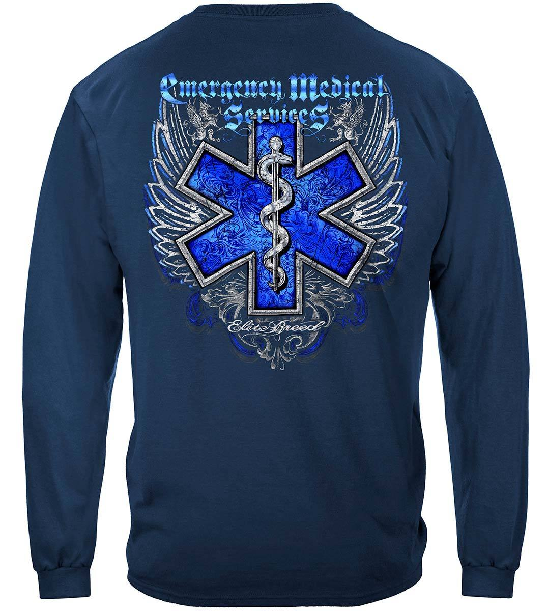 Elite Breed EMS Chrome Wings Silver Foil Premium Long Sleeves